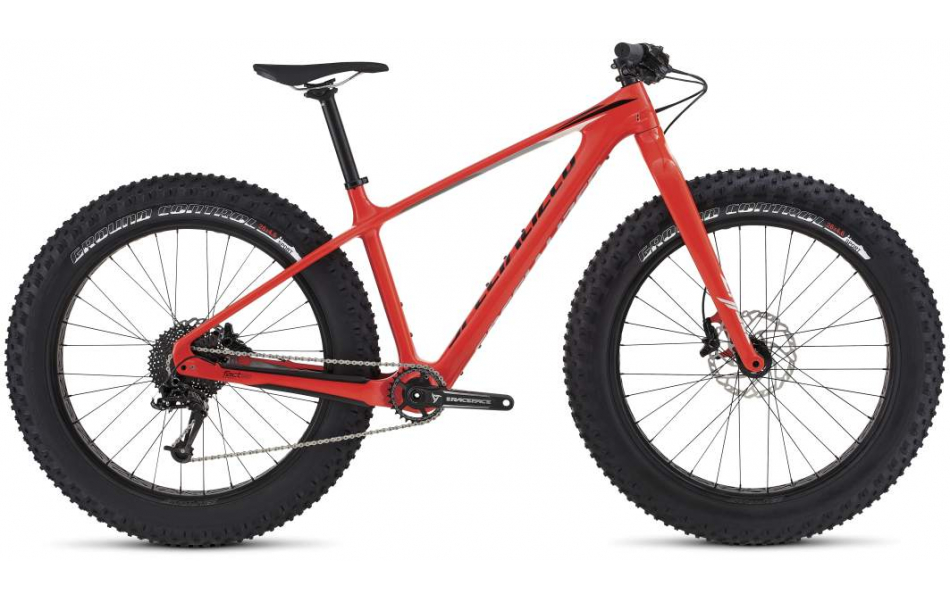 Горный Fatbike (Фэтбайк) Specialized Fatboy Comp Carbon 2016 Артикул 99516-5402, 99516-5403, 99516-5404, 99516-5405