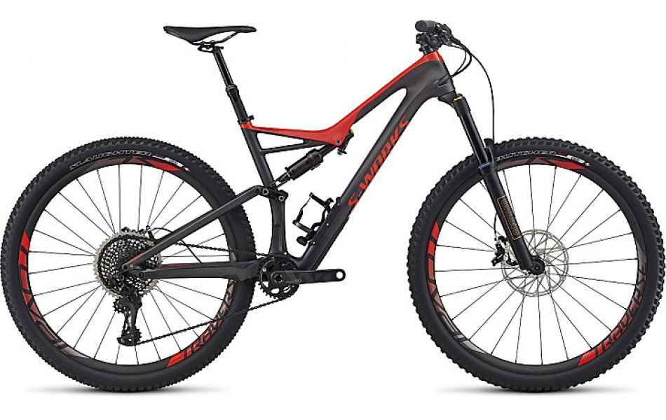 S-WORKS горные велосипеды Specialized S-Works Stumpjumper FSR Carbon 29 2017 Артикул 97517-0002, 97517-0003, 97517-0004, 97517-0005