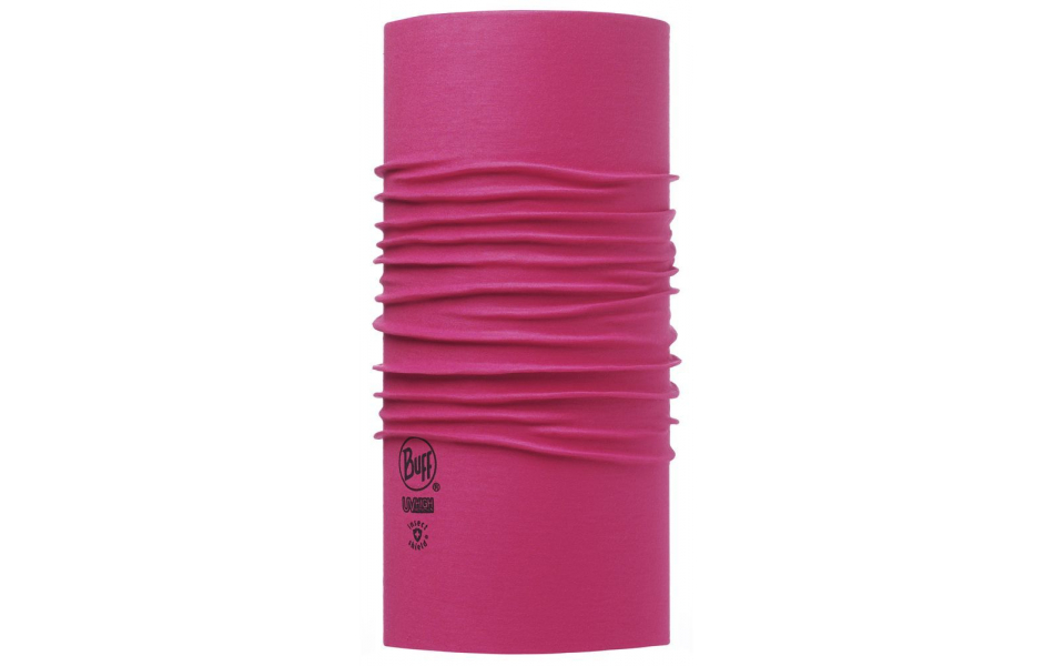 Бандана Бандана BUFF 2016 HIGH UV PROTECTION BUFFWITH INSECT SHIELD NSECT SHIELD BUFF® SOLID DEEP FUCHSIA Артикул 8428927201997