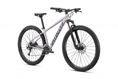 Женский велосипед Specialized Rockhopper Comp 27,5 2X 2021 Gloss Clay / Satin Cast Blue Metallic