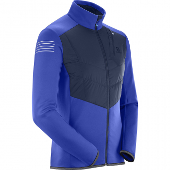 Куртка Salomon PULSE WARM JKT M Surf The Web/NIGHT SKY