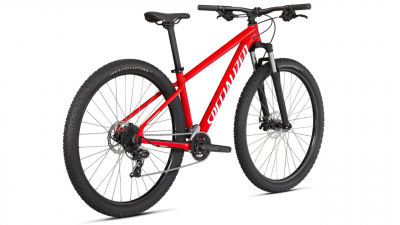 Горный велосипед Specialized Rockhopper 27,5 2021 Gloss Flo Red / White