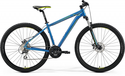 Горный велосипед Merida Big Nine 20-MD Blue Blue Green 2019