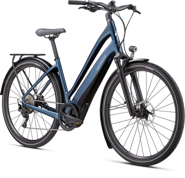 Электровелосипед Specialized Como 5.0 Low Entry 2020 темно-синий