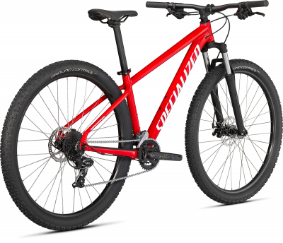 Горный велосипед Specialized Rockhopper 29 2021 Gloss Flo Red / White